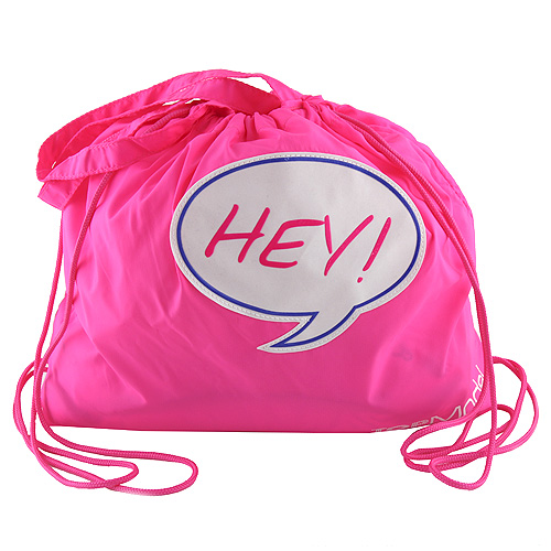 """Sportovní batoh Top Model Růžový, """"HEY!"""""""
