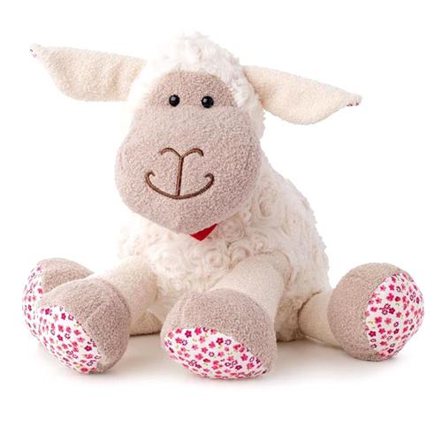 Ovečka Lumpin Olivia, kvítka, 25 cm