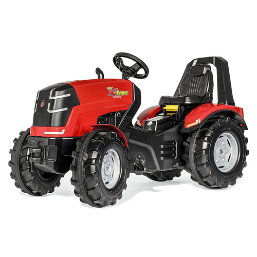 Šlapací traktor Rolly toys X-Trac Premium, červený