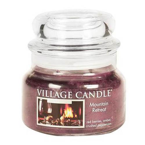 Svíčka ve skleněné dóze Village Candle Horské zátíší, 312 g