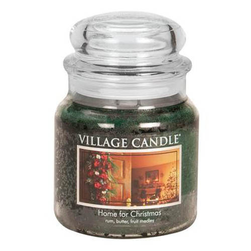 Svíčka ve skleněné dóze Village Candle Home for Christmas, 454 g