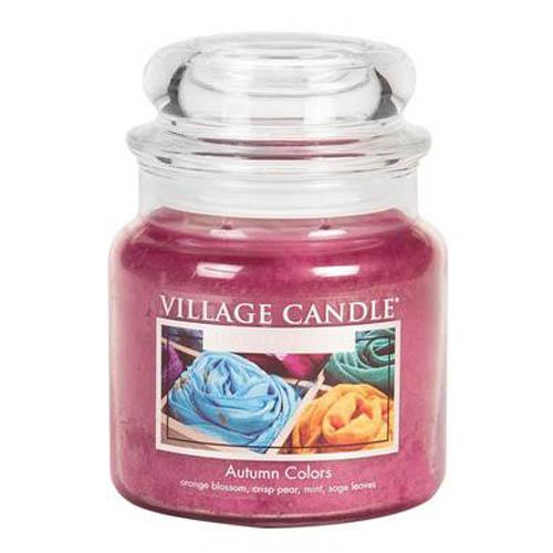 Svíčka ve skleněné dóze Village Candle Barvy podzimu, 454 g