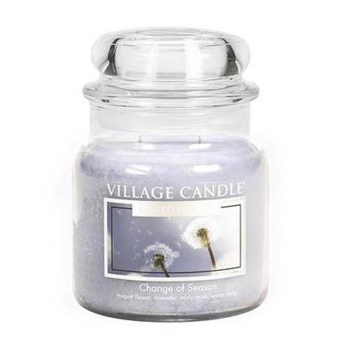 Svíčka ve skleněné dóze Village Candle Proměna období, 454 g