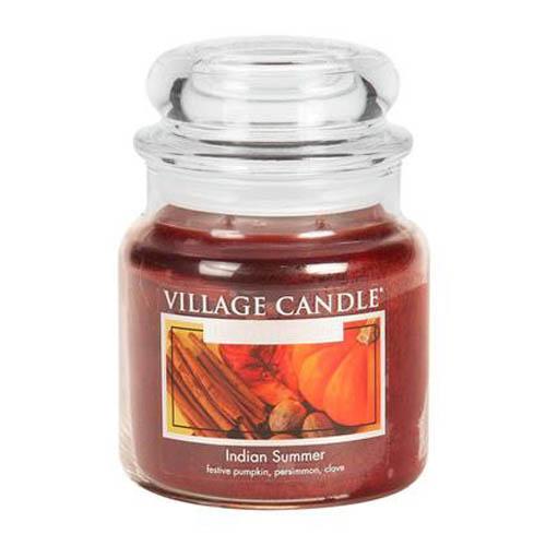 Svíčka ve skleněné dóze Village Candle Indické léto, 454 g