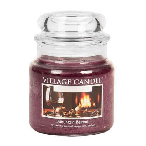 Svíčka ve skleněné dóze Village Candle Horské zátíší, 454 g