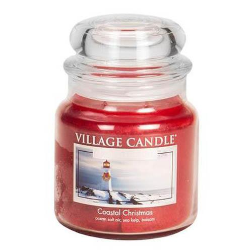 Svíčka ve skleněné dóze Village Candle Vánoce v přístavu, 454 g