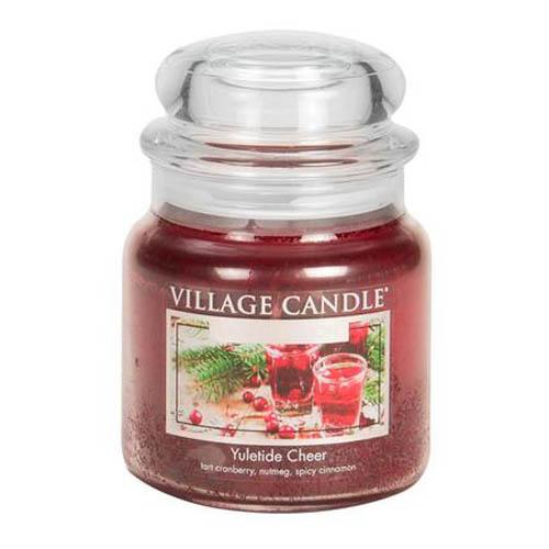 Svíčka ve skleněné dóze Village Candle Vánoční čas, 454 g