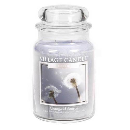 Svíčka ve skleněné dóze Village Candle Proměna období, 737 g
