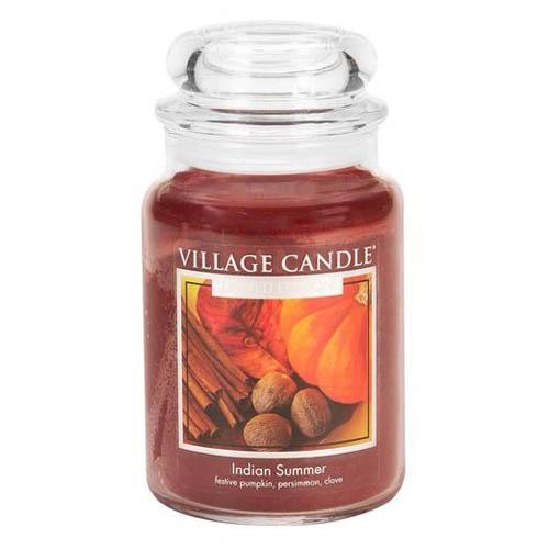 Svíčka ve skleněné dóze Village Candle Indické léto, 737 g