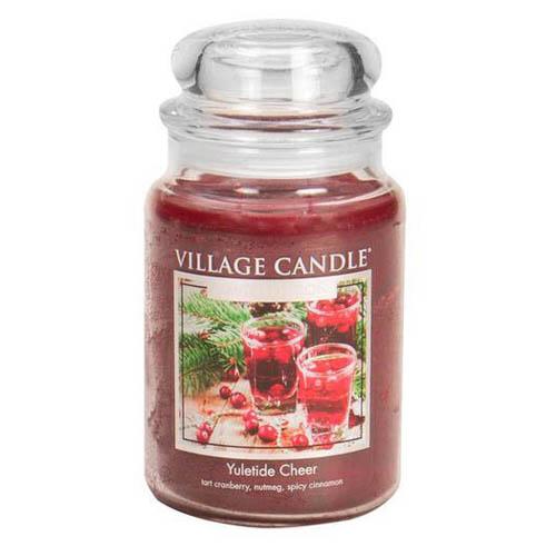Svíčka ve skleněné dóze Village Candle Vánoční čas, 737 g