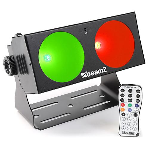 LED efekt BeamZ Professional Lucid 1.2, 2 x 10W COB LED, IR, DMX