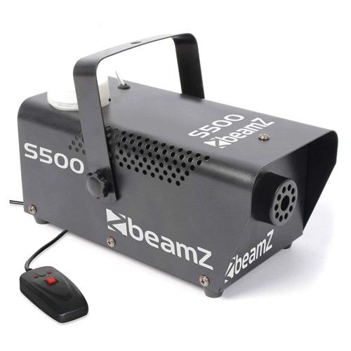 BeamZ S-500 výrobník mlhy 500W, včetně náplně 250ml