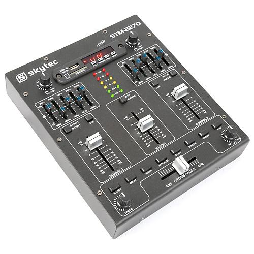 Skytec STM-2270 2 kanálový mixáží pult s MP3 přehrávačem a B