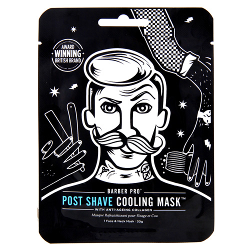 Maska po holení BeautyPro Post Shave Cooling Mask, Anti-Age Collagen, 30 g