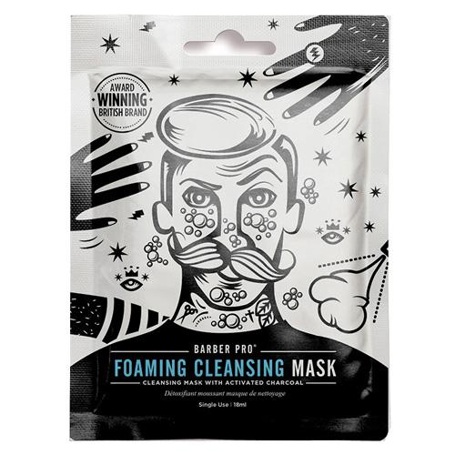 Pěnivá čištící maska BeautyPro Foaming Cleansing Mask, s aktivním uhlím, 18 ml