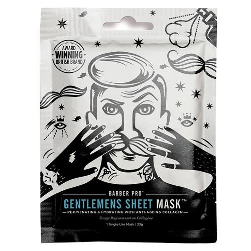 Pánská pleťová maska BeautyPro Gentlemen´s Sheet Mask, omlazující a hydratační, Anti-Age Co