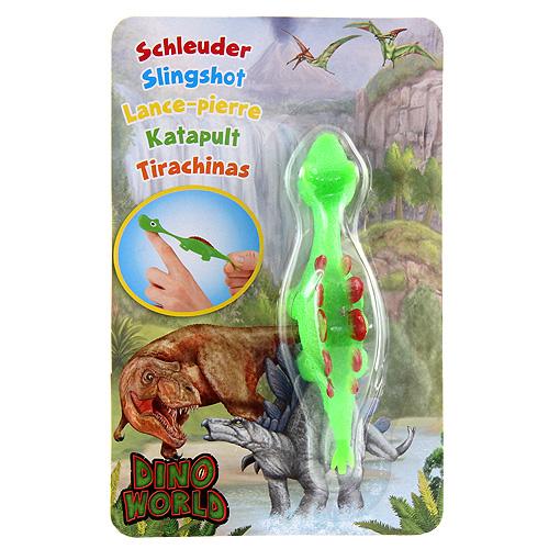Vystřelovací dinosaurus Dino World ASST Stegosaurus, zelený