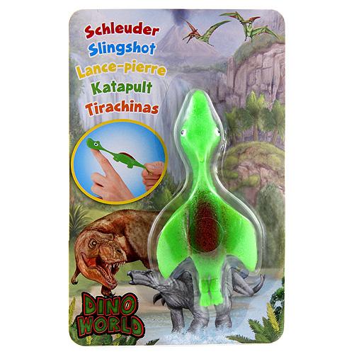 Vystřelovací dinosaurus Dino World ASST Pterodaktyl, zelený