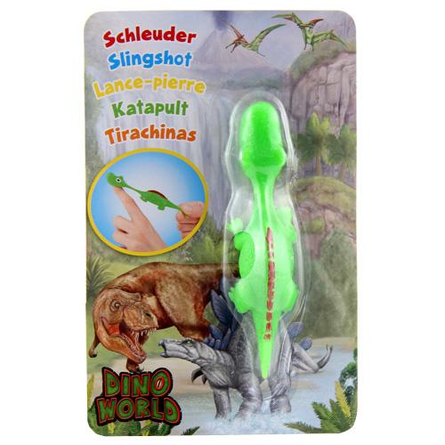 Vystřelovací dinosaurus Dino World ASST Apatosaurus, zelený