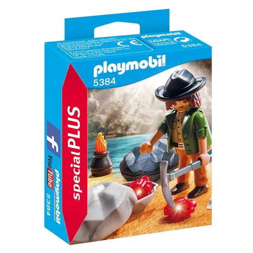 Hledač diamantů Playmobil Dobrodružství v přírodě, 15 dílků