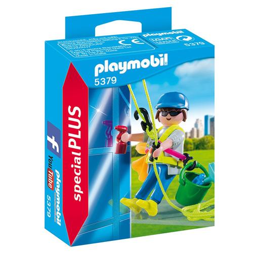 Umývač oken Playmobil Život ve městě, 16 dílků