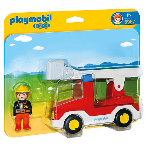 Hasičské auto Playmobil 1.2.3, 2 ks