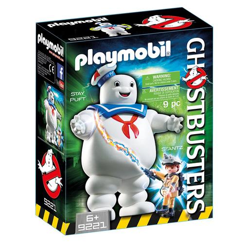 Stay Puft reklamní panák Playmobil Krotitelé duchů, 9 dílků