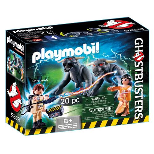 Venkman a psi Playmobil Krotitelé duchů, 20 dílků