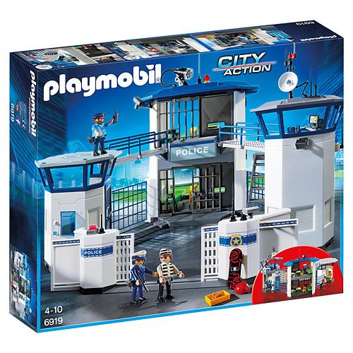 Vězení Playmobil Policie, 256 dílků