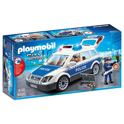 Policejní auto Playmobil Policie, 20 dílků
