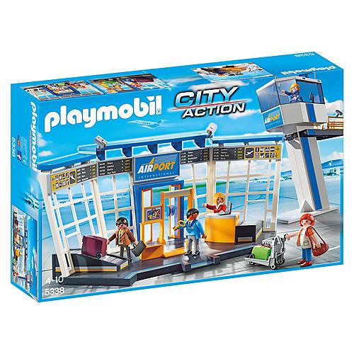 Letiště s kontrolní věží Playmobil Život ve městě, 46 dílků