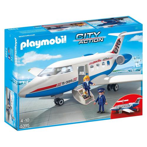 Letadlo Playmobil Život ve městě, 48 dílků