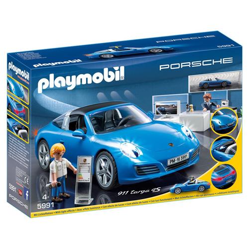 Porsche 911 Targa 4S Playmobil Život ve městě, 26 dílků