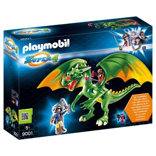 Drak ze Země rytířů s Alexem Playmobil Super 4, 50 dílků