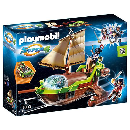 Pirátský Chameleon s Ruby Playmobil Super 4, 50 dílků