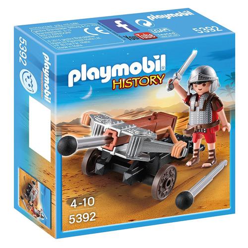 Legionář s balistou Playmobil Římané a Egypťané, 15 dílků