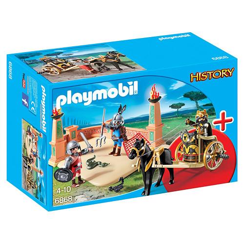 Zápas gladiátorů StarterSet Playmobil Římané a Egypťané, 53 dílků