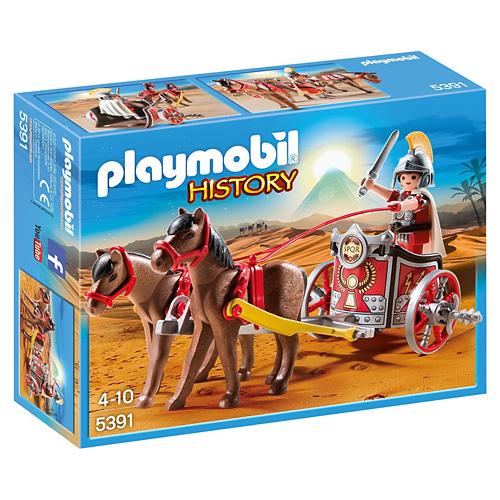 Římský vozataj Playmobil Římané a Egypťané, 24 dílků