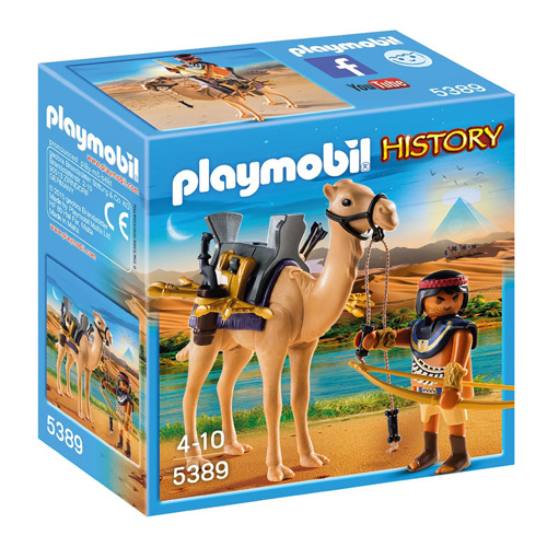 Egyptský bojovník s velbloudem Playmobil Římané a Egypťané, 8 dílků