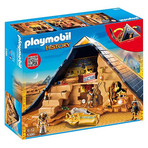 Faraonova pyramida Playmobil Římané a Egypťané, 120 dílků