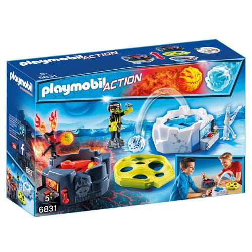Hry ohně a ledu Playmobil Sport a akce, 18 dílků