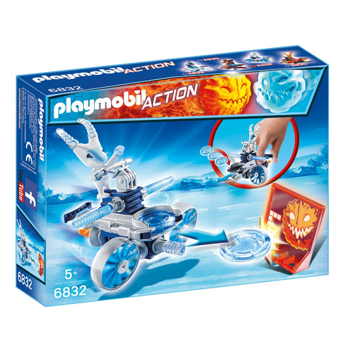 Frosty s odpalovačem Playmobil Sport a akce, 6 dílků