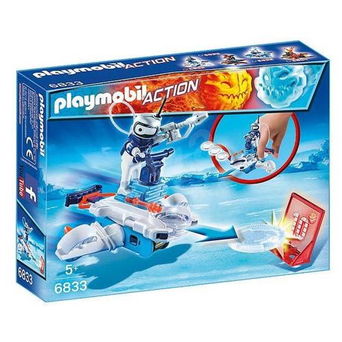 Icebot s odpalovačem Playmobil Sport a akce, 7 dílků