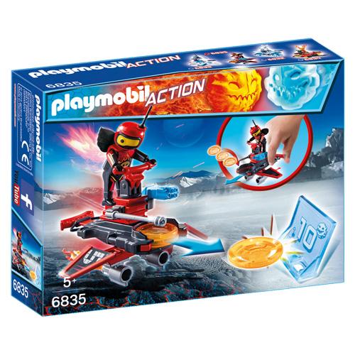 Firebot s odpalovačem Playmobil Sport a akce, 8 dílků