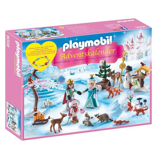 Adventní kalendář Playmobil Ledová princezna, 104 dílků