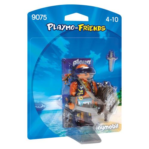 Pirát se štítem Playmobil Piráti, 8 dílků