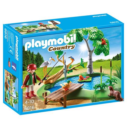 Chovný rybník Playmobil Statek, 39 dílků