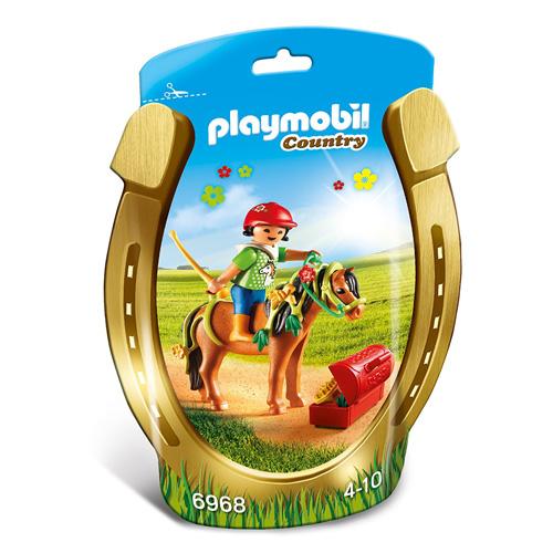 """Zdobení poníků """"Kytička"""" Playmobil Jezdecký dvůr, 10 dílků"""