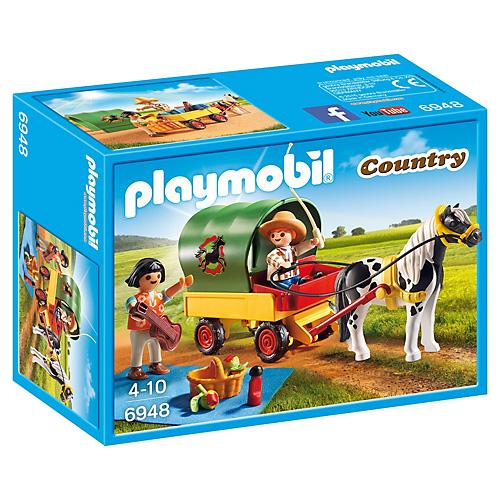 Výlet do přírody Playmobil Jezdecký dvůr, 20 dílků