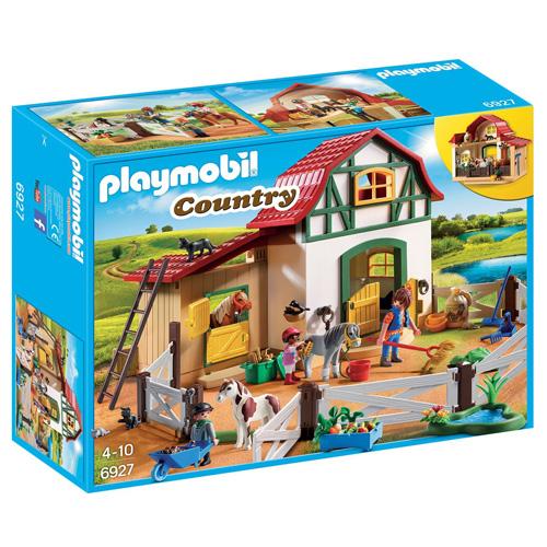 Farma s poníky Playmobil Jezdecký dvůr, 80 dílků